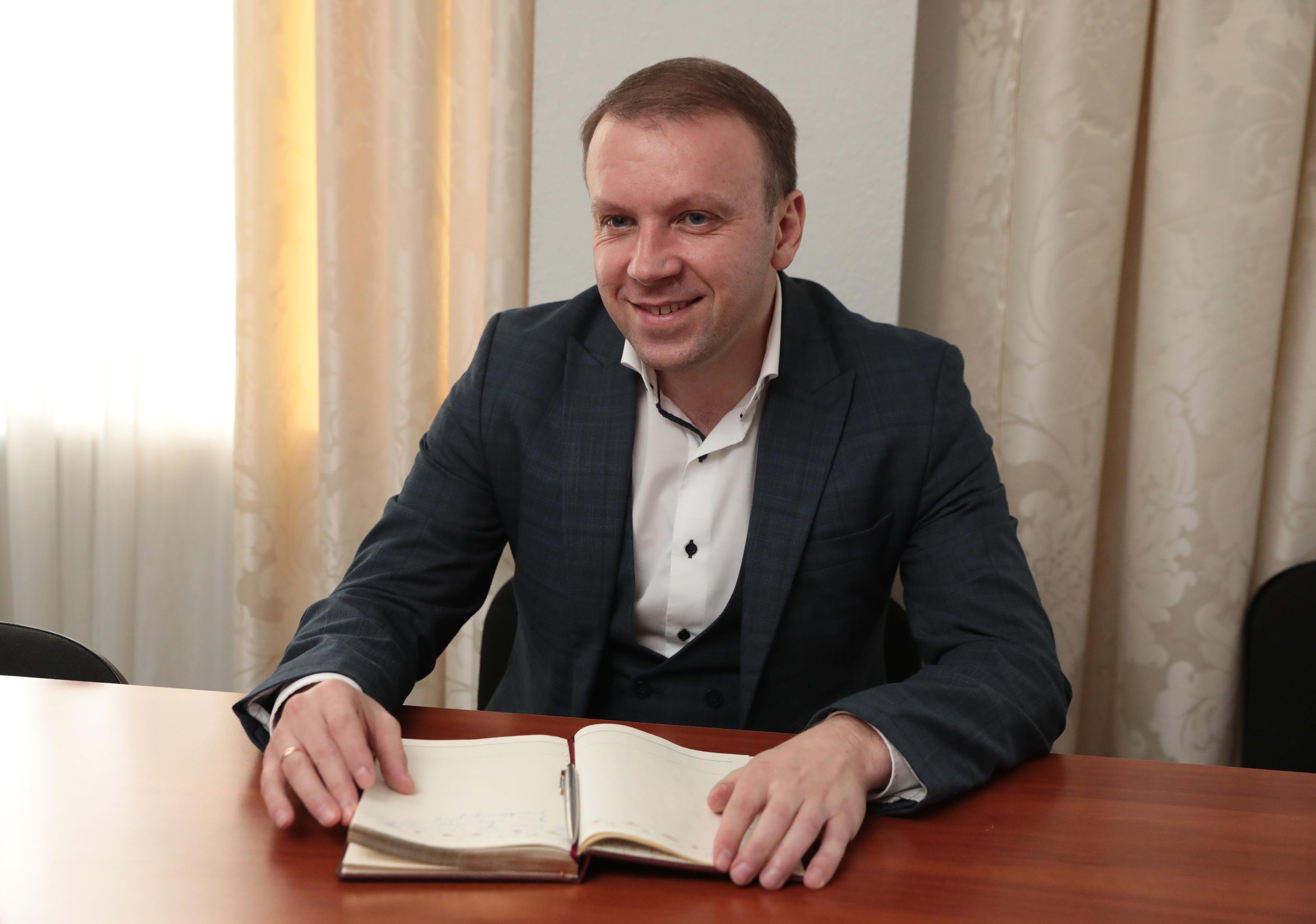Заступник міністра фінансів Роман Єрмоличев