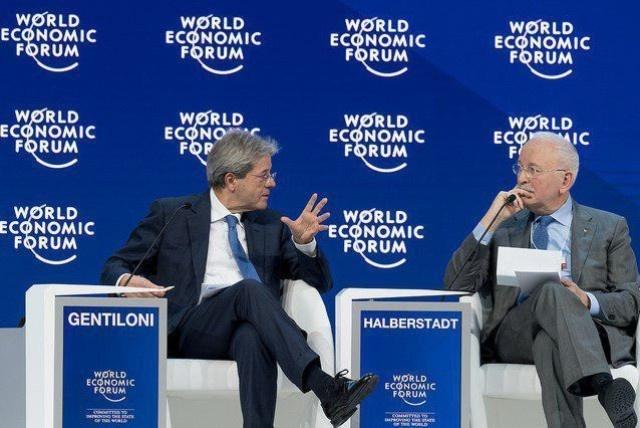 Паоло Джентілоні (зліва) відмежував Європу від США