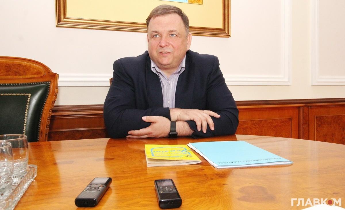 Голова Конституційного суду Станіслав Шевчук