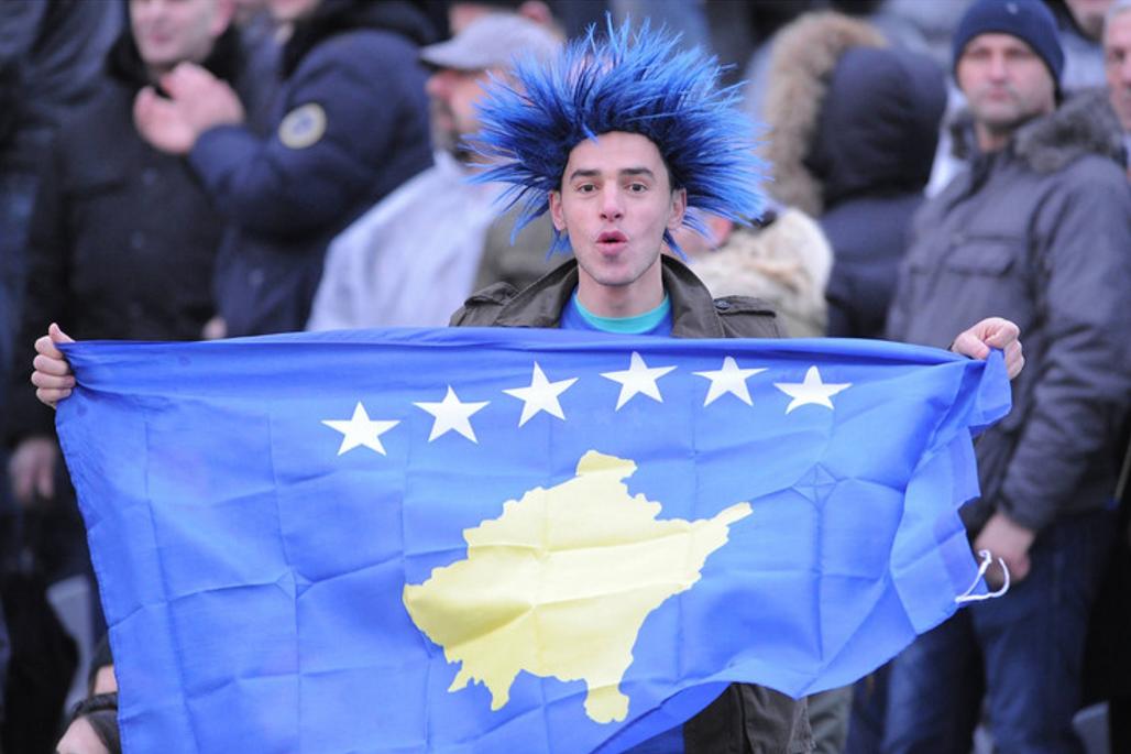 Під час протестів у Приштині в листопаді 2015 р. (Джерело - blic.rs)