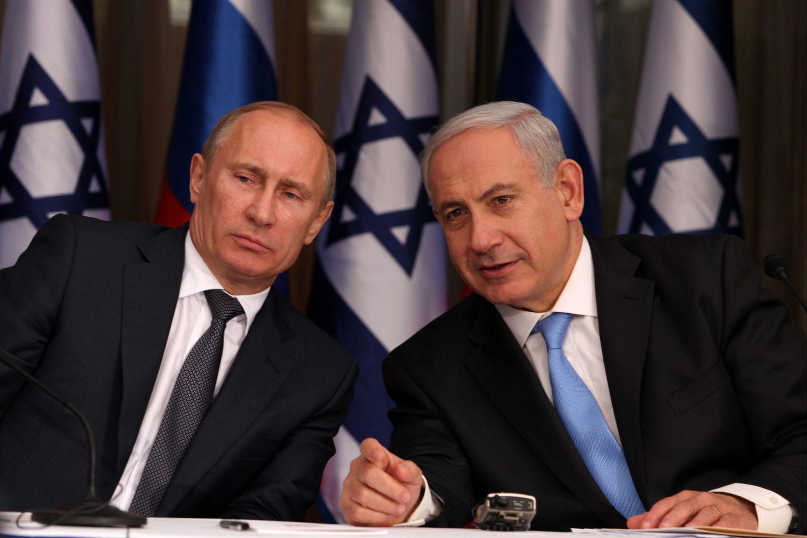 За останні чотири роки Беньямін Нетаньягу і Володимир Путін провели 10 зустрічей