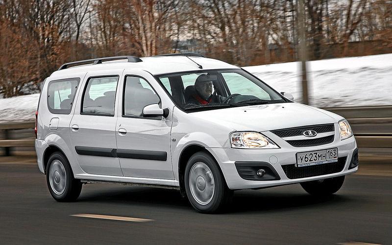 Lada Largus - бюджетний універсал, збудований на базі Renault Logan