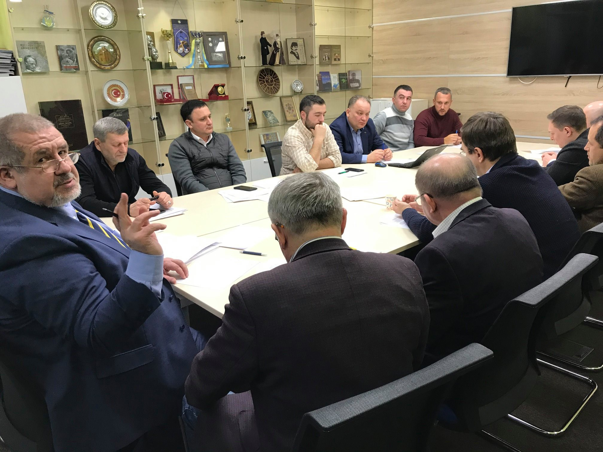 27 січня відбулося засідання Штабу організаторів Маршу гідності, запланованого на 3 травня