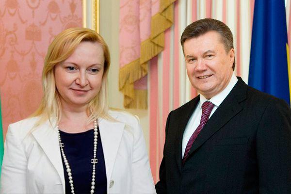 юбовь Полежай родила Януковичу сына (фото из открытых источников)