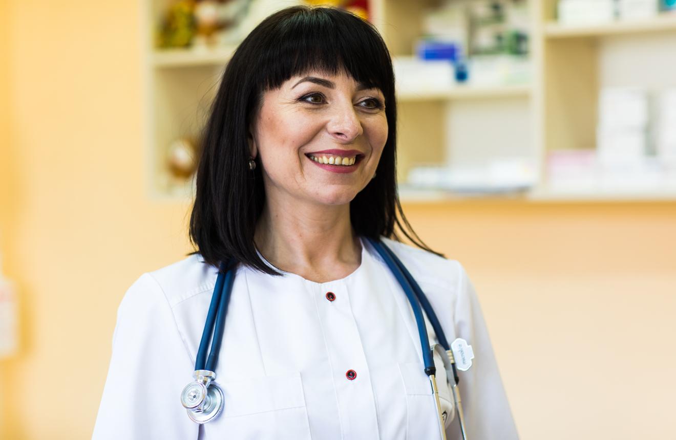Найкраща сімейну лікарка України 2019 року Ірина Гнатів