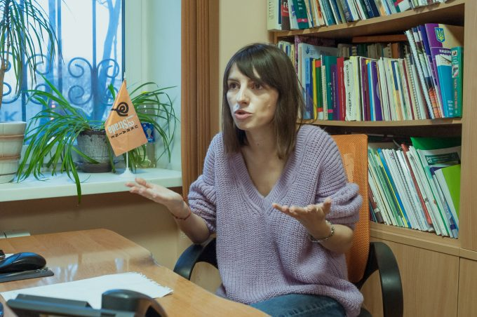 Альона Кривуляк, ГО «Ла Страда-Україна»