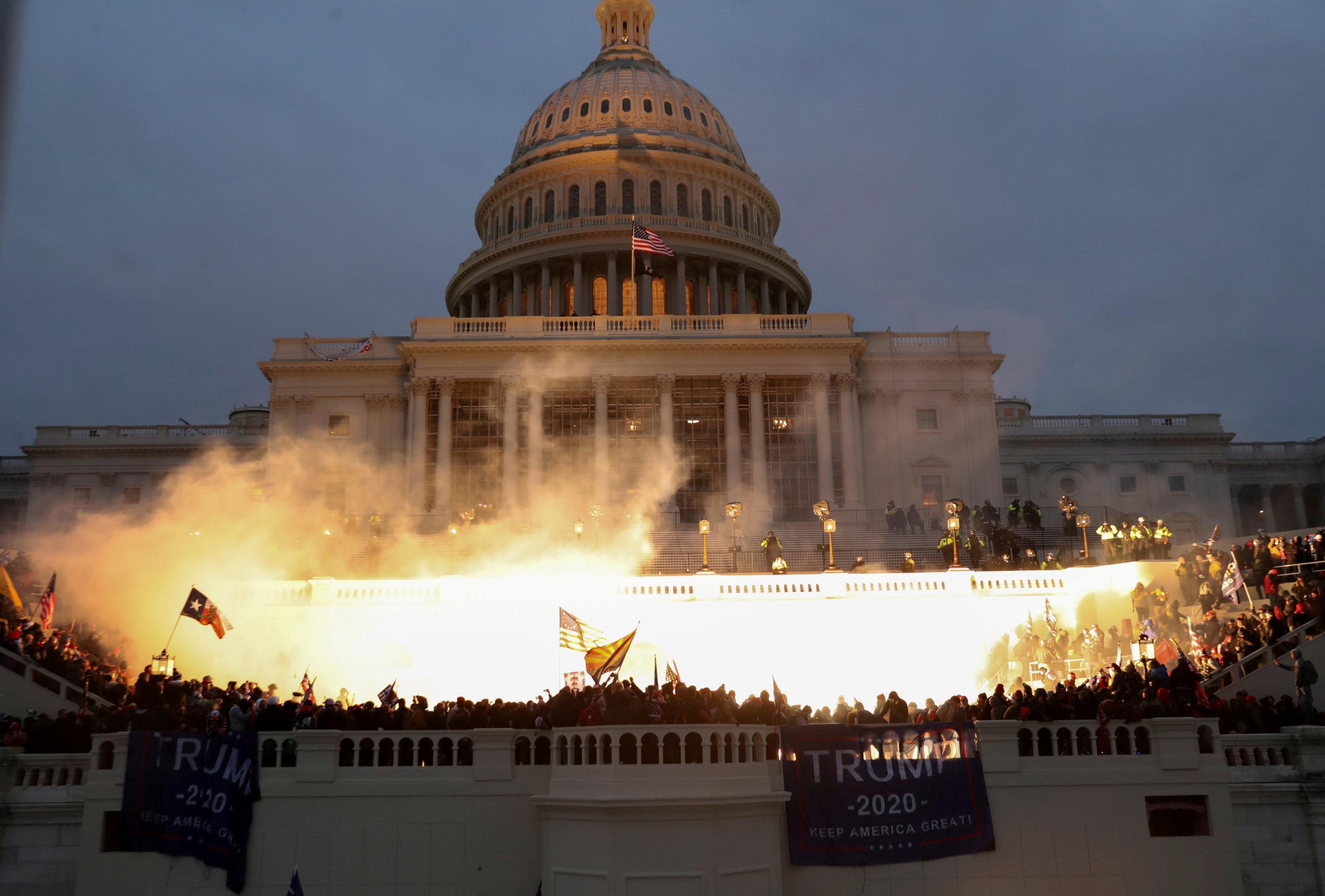 Останній акорд 2020 року прозвучав страхітливим басом в стінах американського Конгресу