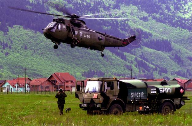 SFOR - місія НАТО в Боснії і Герцеговині. Джерело www.nato.int