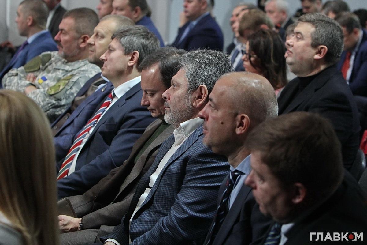 Представники парламентської фракція БПП на з'їзді