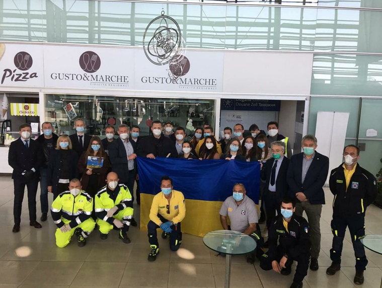 Українські і італійські медики в Італії