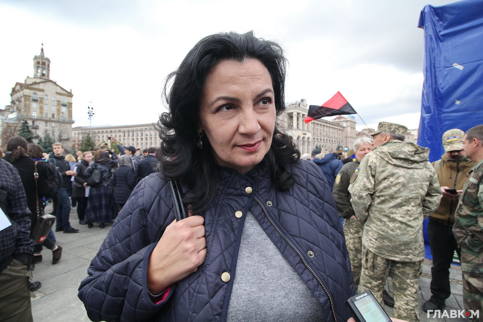 Іванна Клімпуш-Цинцадзе колишній віце-прем'єр з європейської інтеграції, голова парламентського комітету з євроінтеграції («Європейська солідарність»)