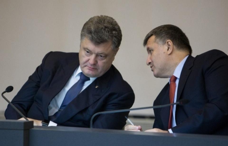 Пара Порошенко–Аваков змушена триматись разом, аби нинішня конструкція влади не похитнулась