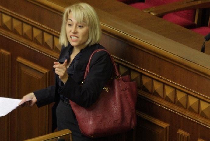 Народний депутат Альона Бабак (фото: Tv.ua)