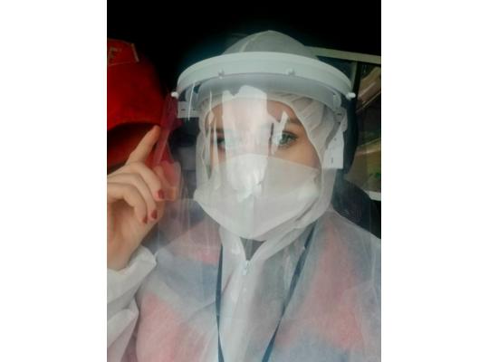 Аліса Гріщенкова: На всі виклики ми їздимо в масках і рукавичках