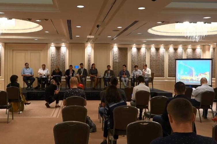 Учасники зустрічі обговорюють проблеми газового ринку