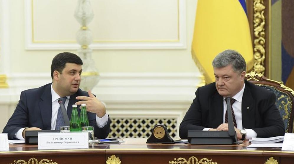 Між Володимиром Гройсманом та Петром Порошенком давно пробігла «чорна кішка»