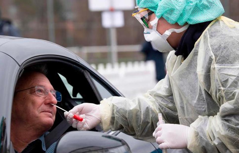 Показник тестування у Німеччині – 537,3 тис. на 1 млн населення, населення – 84 млн людей. Фото AFP