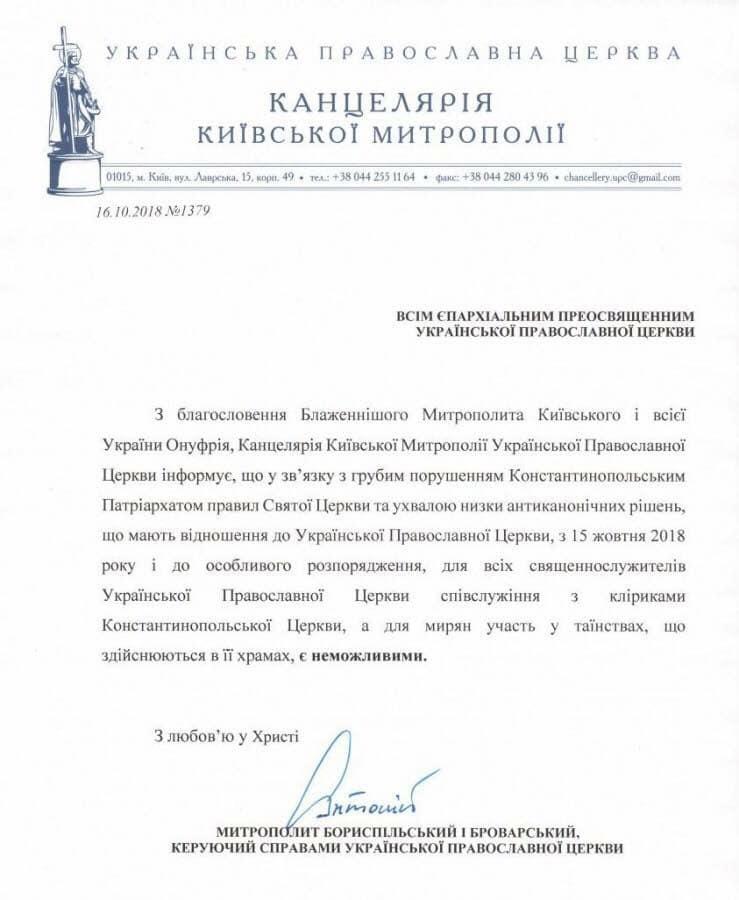 Киевская метрополия