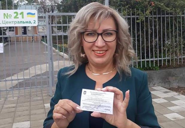 Галина Лугова представляє іменну партію мера Херсона Ігоря Колихаєва