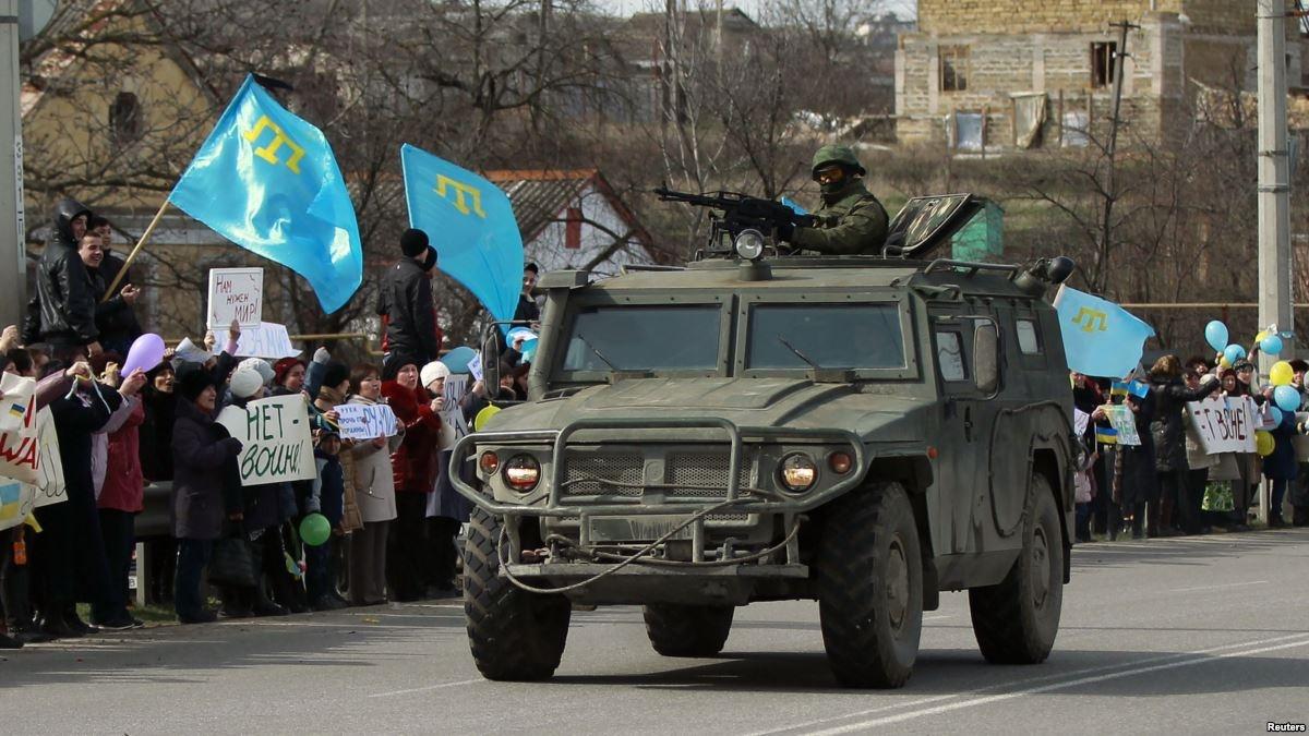 Окупація Криму (фото: Крим. Реалії)