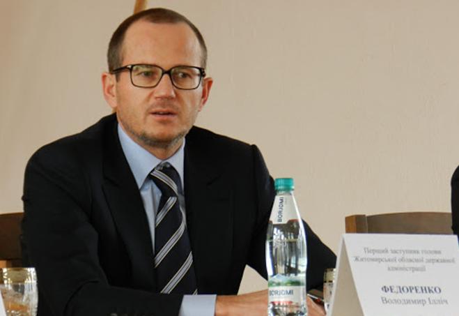 «Слуга народу» влаштувала на посаду очільника Житомирської облради Володимира Федоренка