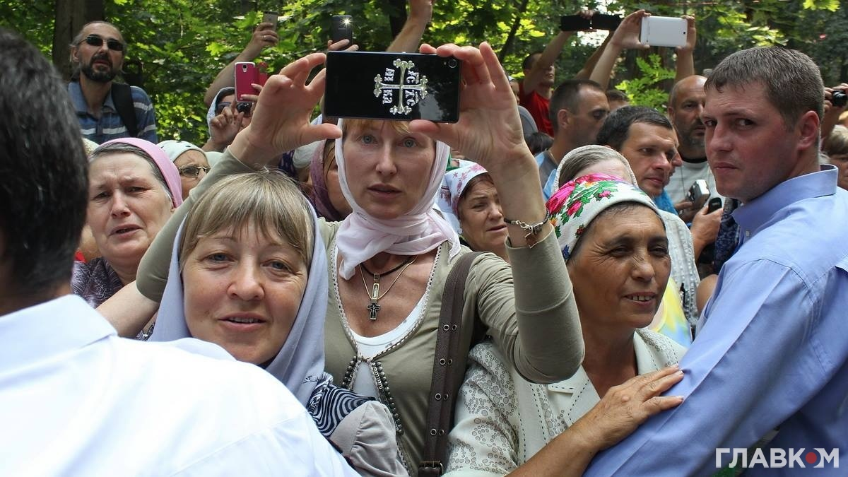Молебен на Володимирській гірці, 27.07.2016 року (фото: Станіслав Груздєв, Главком)