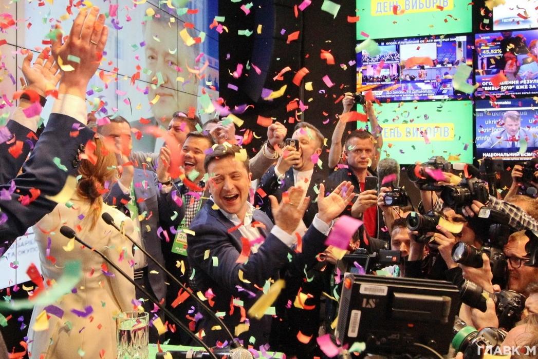 Перший аншлаг президент Зеленський зібрав саме у «Парковому»
