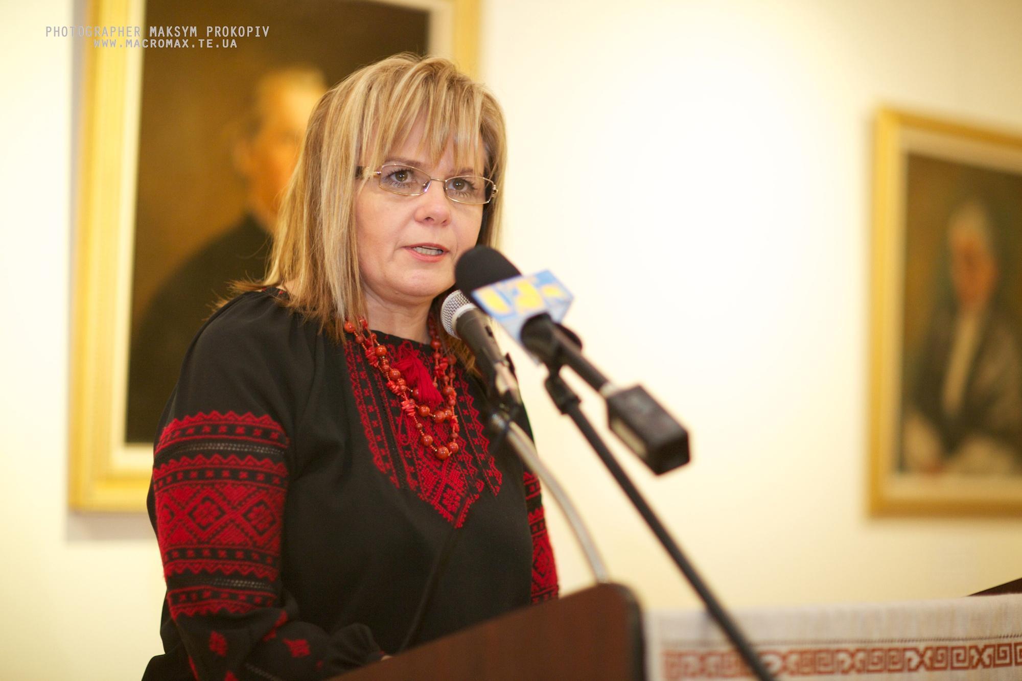 Куратор Українського музею Чикаго Марія Климчак