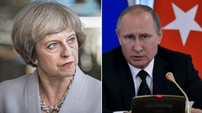 Тереза Мей – Путіну: «Вам не вдасться викрутитися»