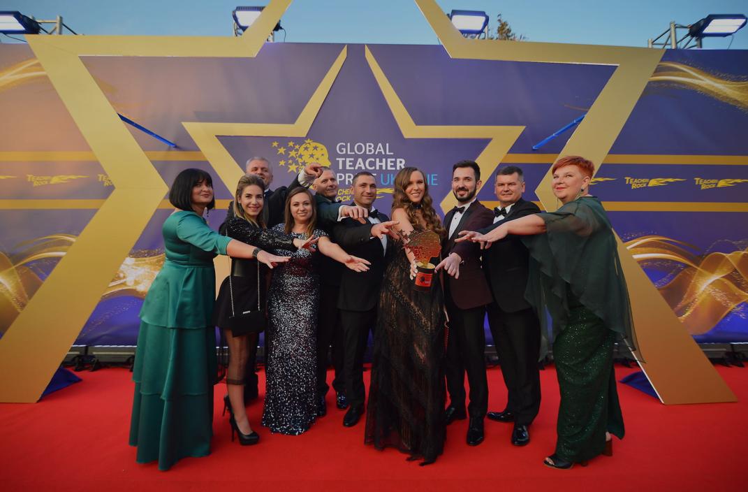 Церемонія нагородження Global Teacher Prize Ukraine