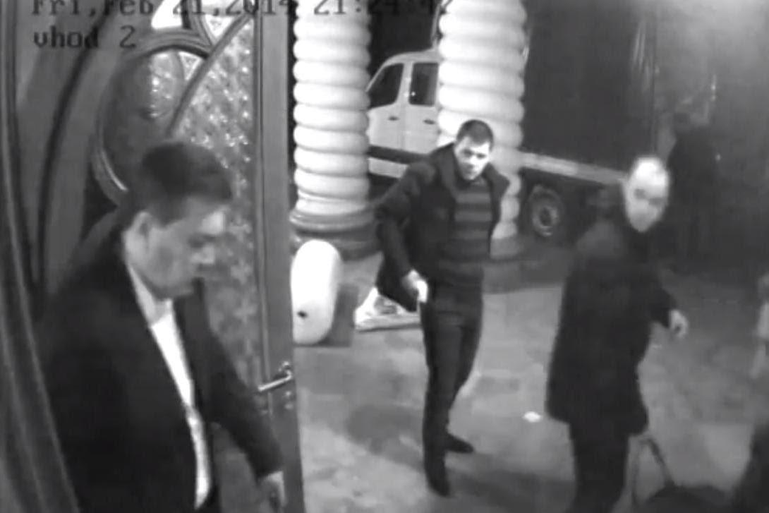 Втеча Янукович. Межигірья, 21 лютого 2014 року
