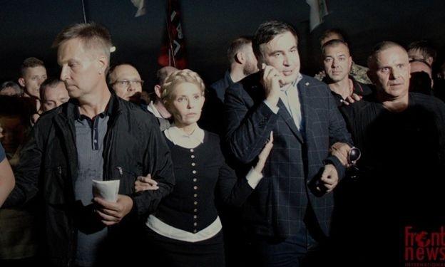 Лідер «Справедливості» разом з іншими опозиціонерами допомагав Михайлу Саакашвілі потрапити до України