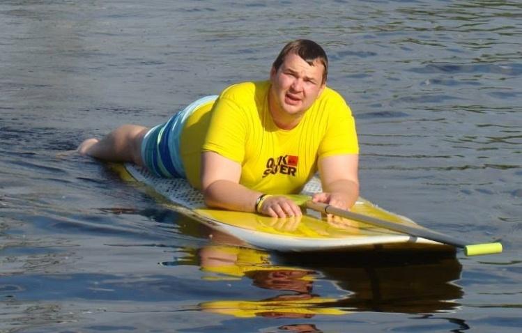 Дмитро Булатов займається спортом
