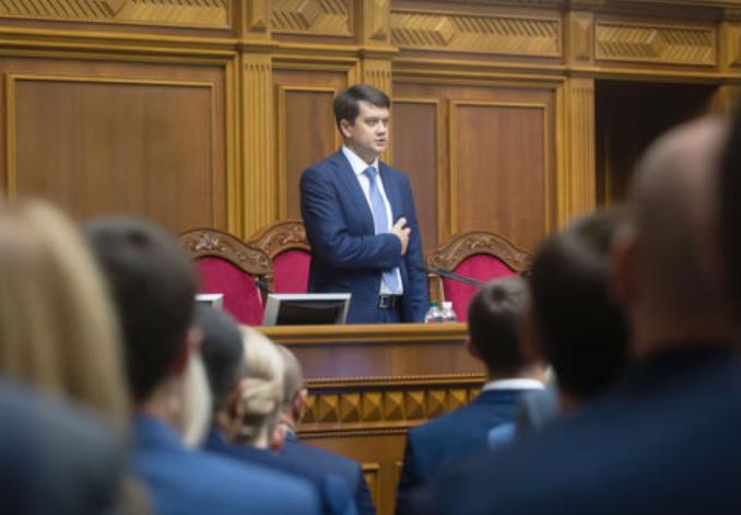 Частина фракції «Слуги народу» вже орієнтується на голову парламенту
