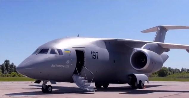 Літак Ан-178 виробництва ДП «Антонов»