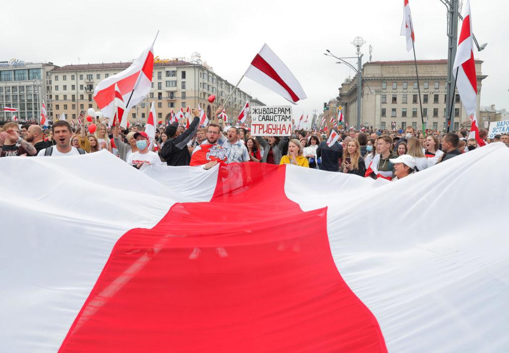 Ідея ненасильства дуже важлива для білоруської свідомості, для білоруського протесту (фото з відкритих джерел)