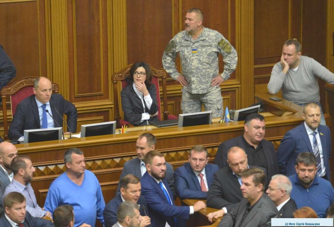 Віце-спікер Оксана Сироїд представляла альтернативний законопроект «Самопомочі»