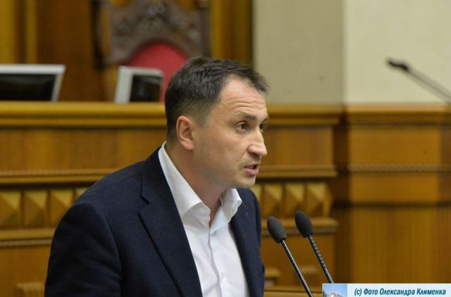 Голова аграрного парламентського комітету Микола Сольський