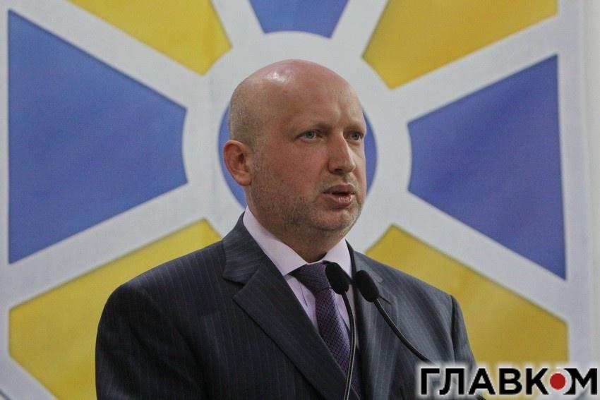 Сенкретарь РНБО Олександр Турчинов