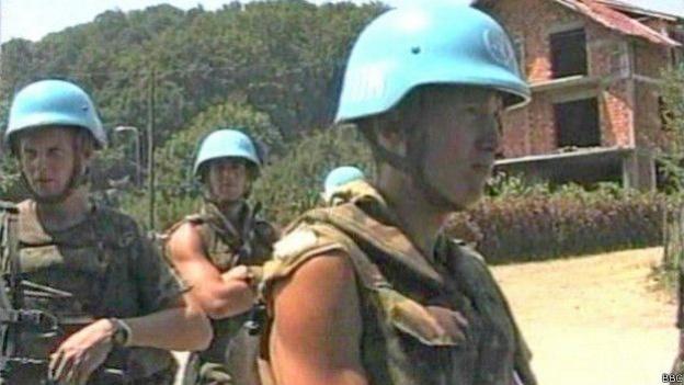 Голландські миротворці ООН в Сребрениці не зробили нічого, аби захистити мирних жителів