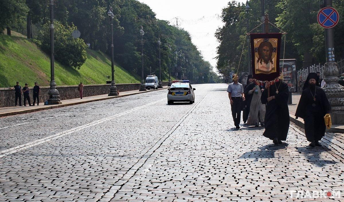 Хресний хід московської церкви у Києві, 27 липня 2016 року (фото: Станіслав Груздєв, Главком)