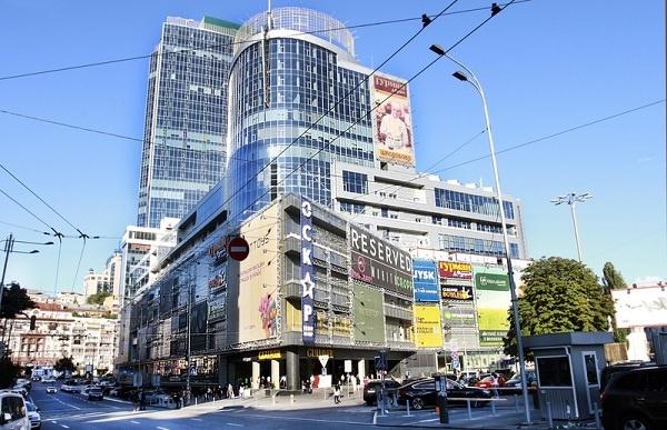 Торговий центр «Гулівер» у столиці арештовано у справі «Михайлівського» (фото: сomers.com.u)