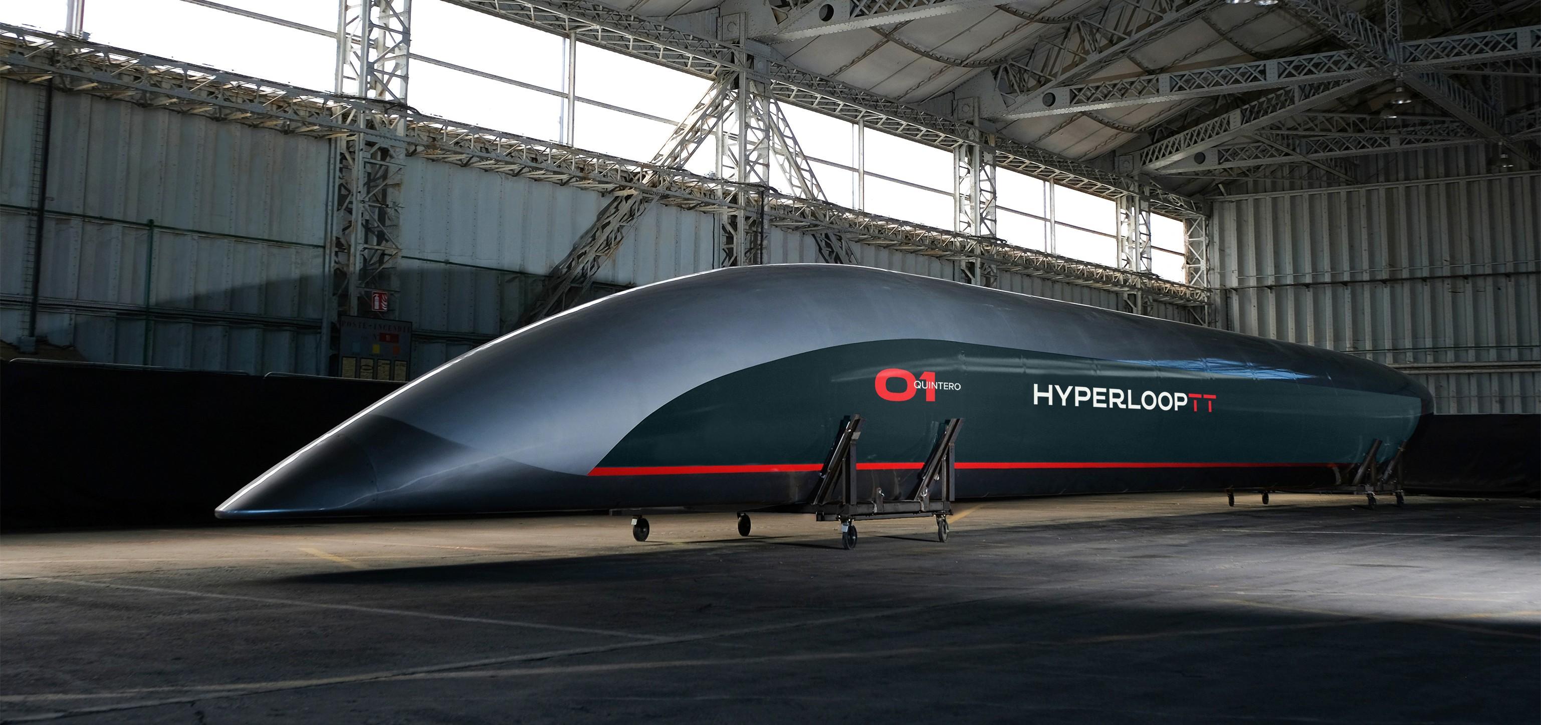 Альтернативний транспорт Hyperloop (фото: www.hyperlooptt.com)