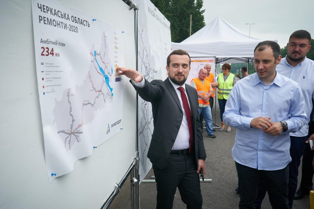 В Офісі президента Зеленського відповідальним за «Велике будівництво» є Кирило Тимошенко, особливу увагу чиновник приділяю PR-складовій проєкту (фото пресслужби президента)