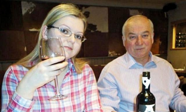 Сергій Скрипаль з донькою Юлією