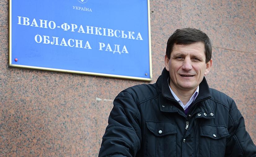 Екснардеп Олександр Сич («Свобода») очолив Івано-Франківську облраду