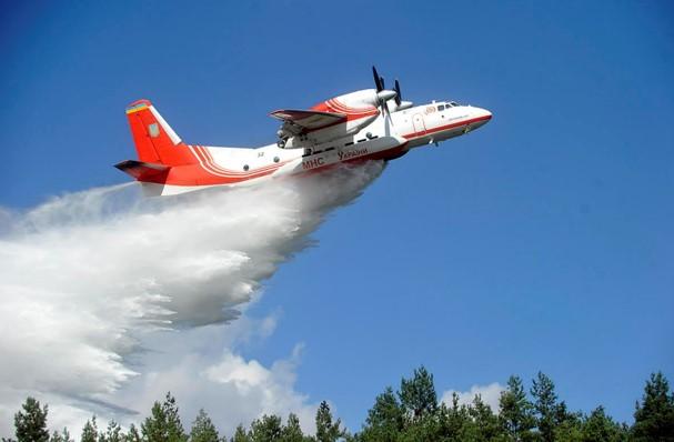 Український літак-пожежник Ан-32п