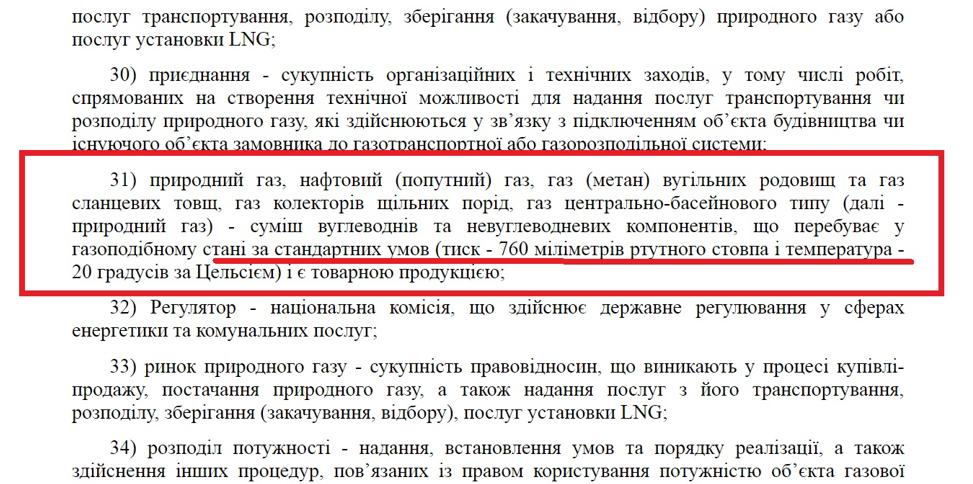 Що передбачає Закон України «Про ринок природного газу»