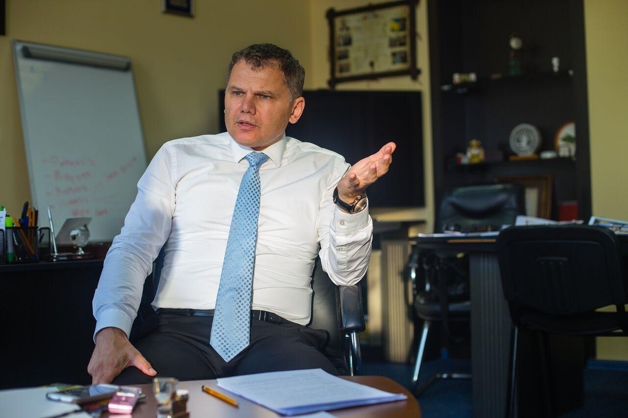 Президент Федерації легкої атлетики Ігор Гоцул
