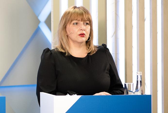 Перша заступниця міністра охорони здоров'я Ірина Садов'як